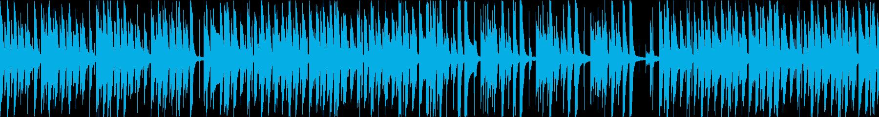 猫をイメージしたほのぼのポップな曲です!の再生済みの波形