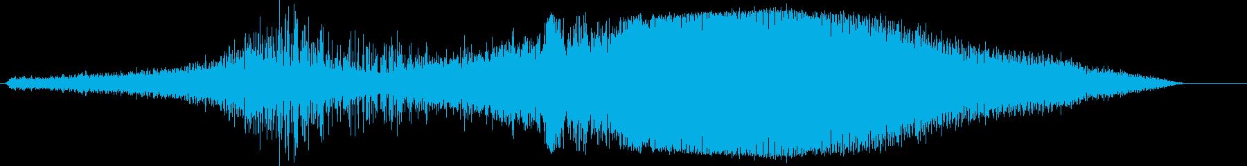 ビーチクラフト:タクシーイン/スロ...の再生済みの波形