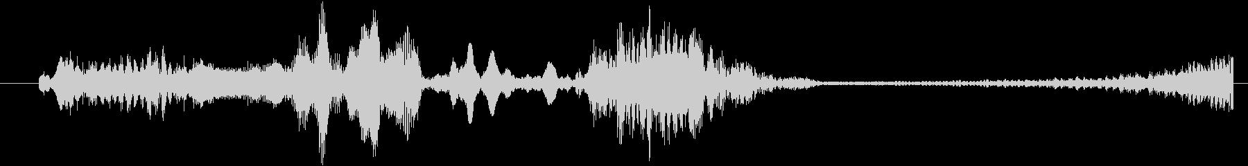 モンスター グリッチトーク01の未再生の波形