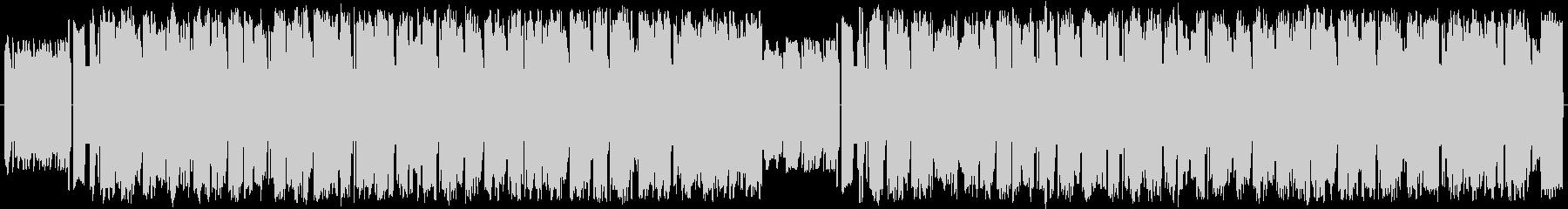 8bit風ルンバBGMの未再生の波形