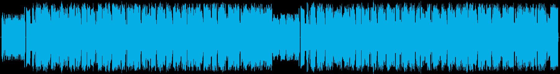 8bit風ルンバBGMの再生済みの波形