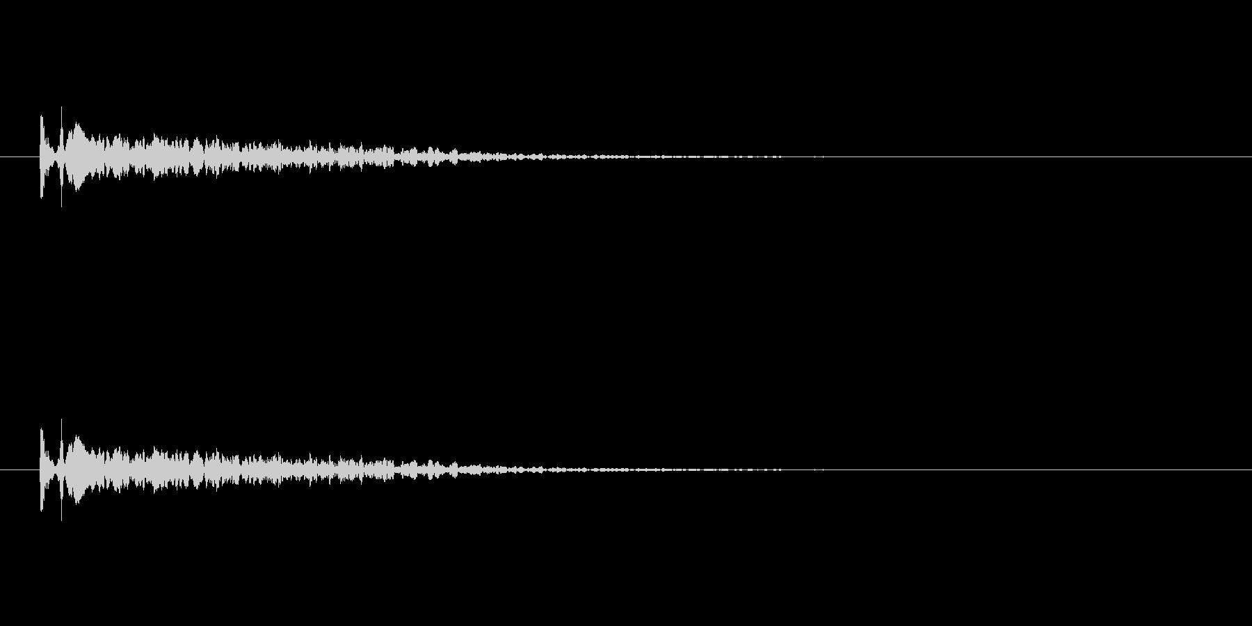 【光る07-1】の未再生の波形