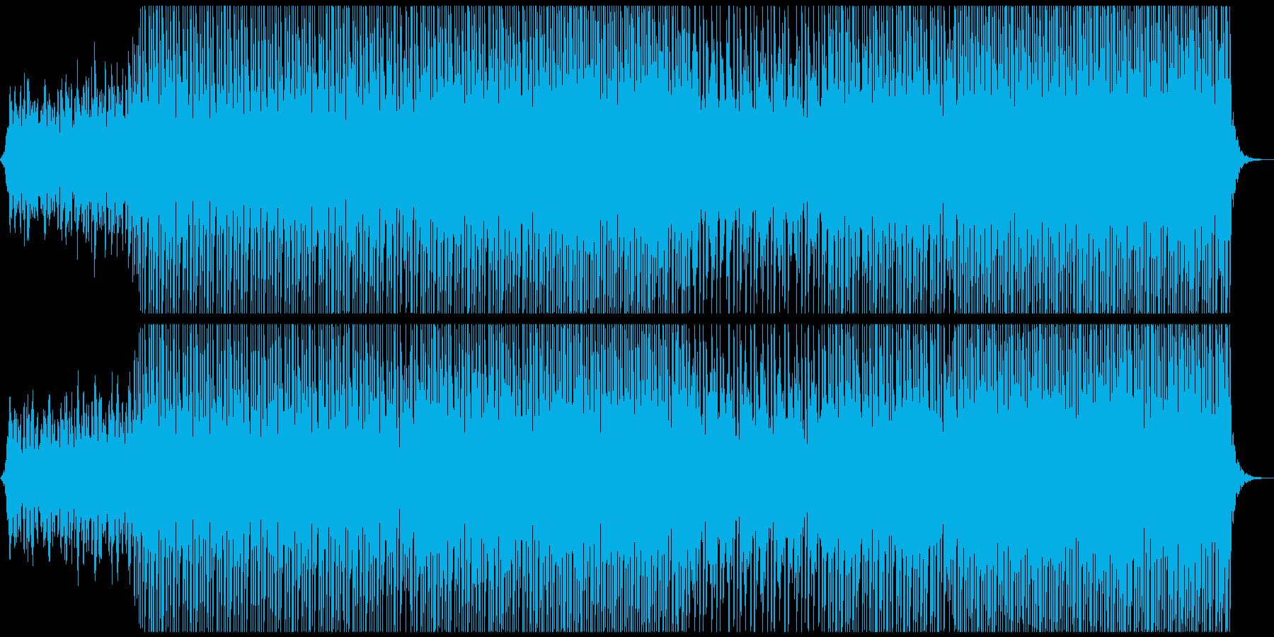 大気ダンスの再生済みの波形