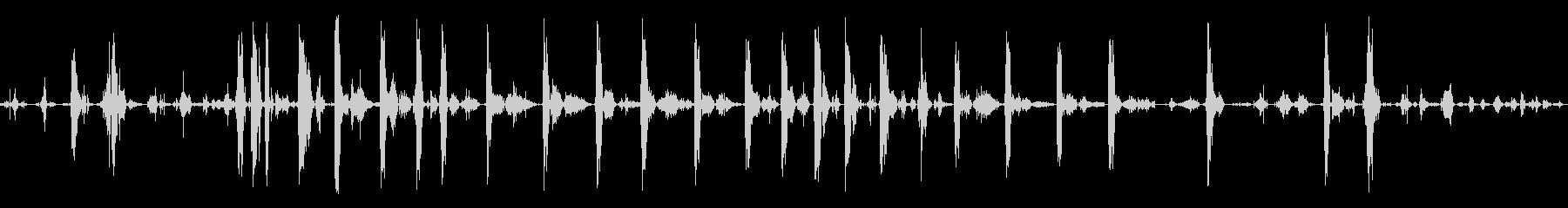 ピットブル犬咳吐き興奮の未再生の波形