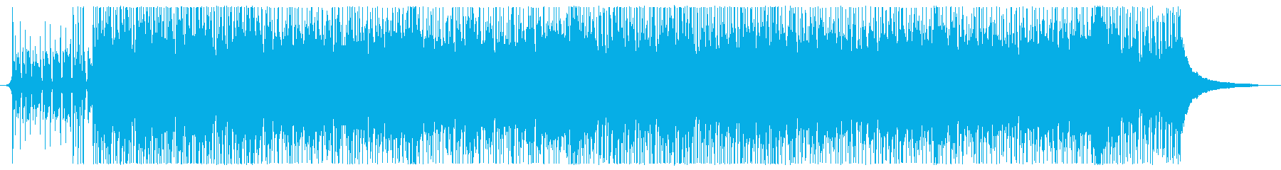 温かく陽気の再生済みの波形