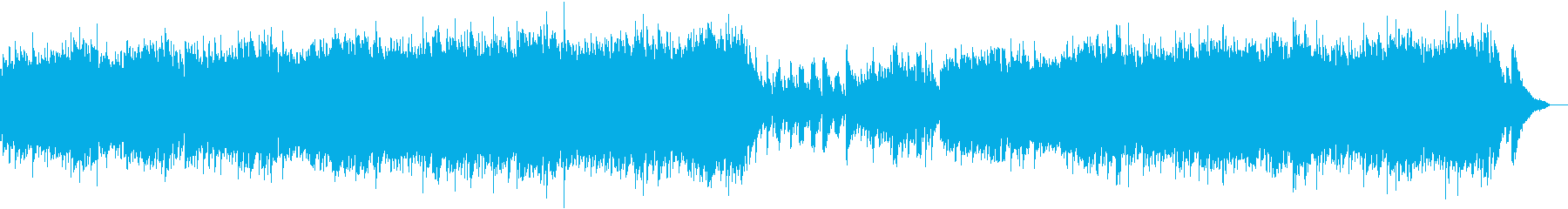 アコーステック 静か 繰り返しの ...の再生済みの波形