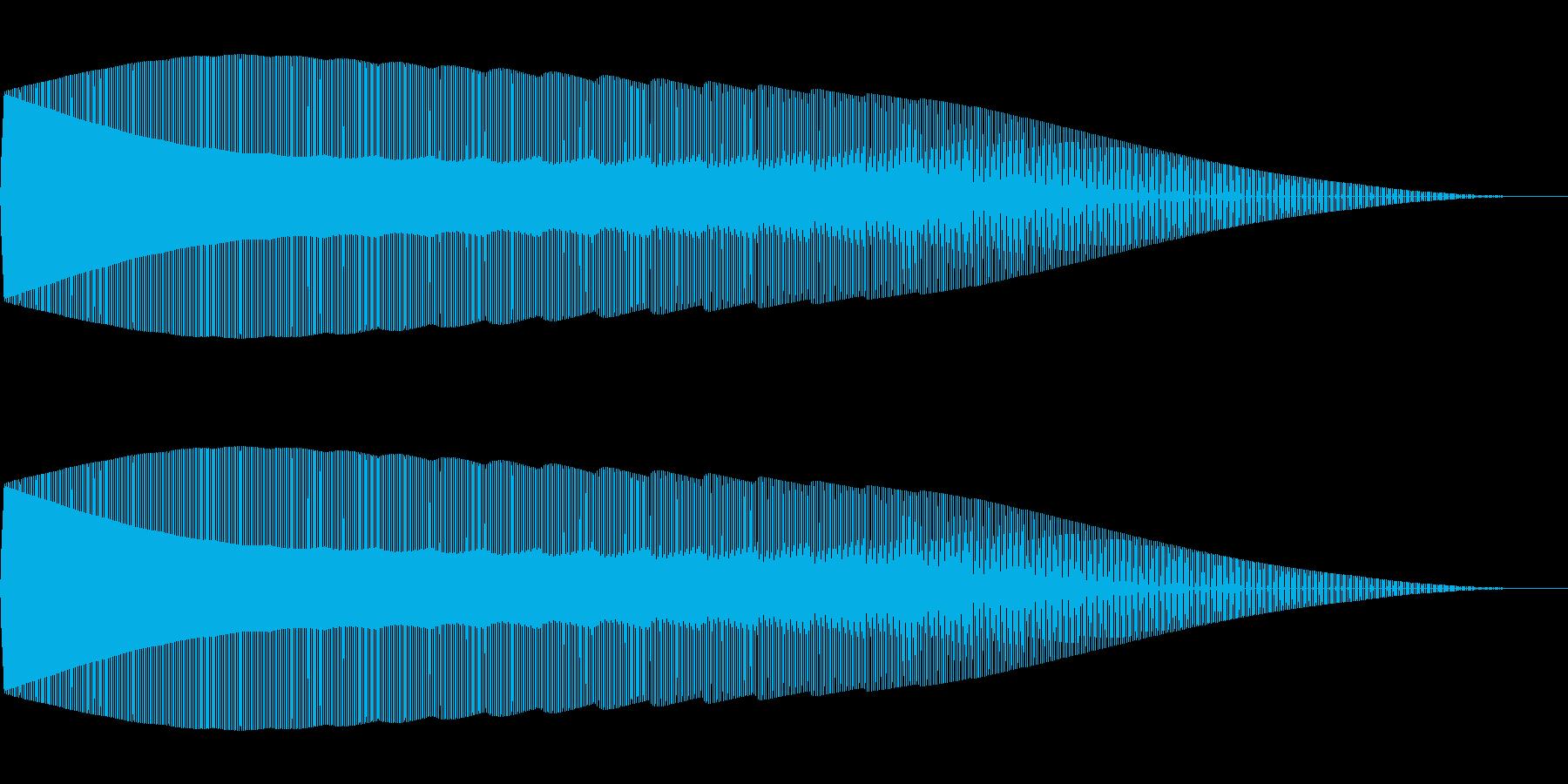 ポロロローン(ファミコン/ジャンプ/失敗の再生済みの波形