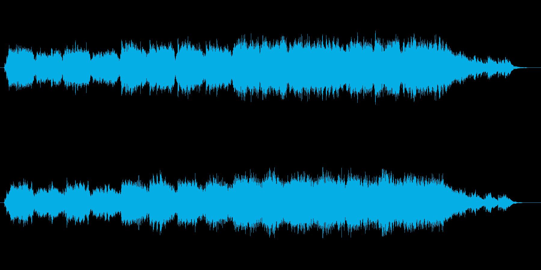 癒しの泉をイメージして制作しました。柔…の再生済みの波形