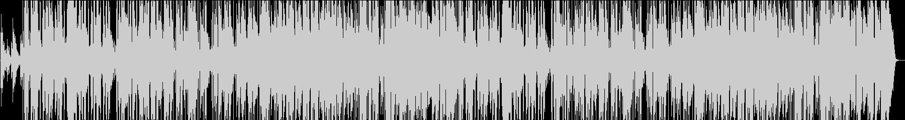 スローテンポなモダンサウンドの未再生の波形