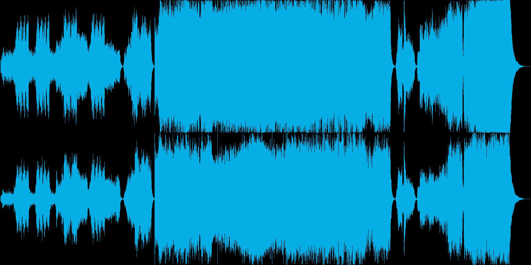 大河ドラマみたいなストーリー性のある楽曲の再生済みの波形