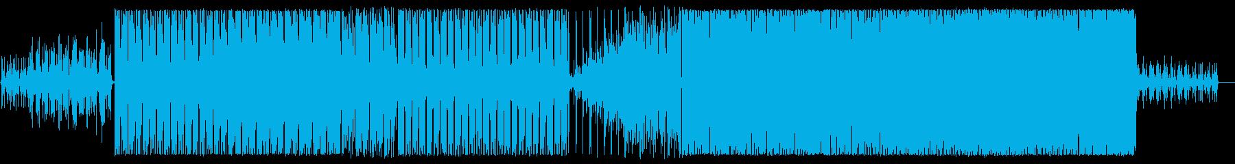 爽やか/ピアノ/清涼感/後半はビート強めの再生済みの波形