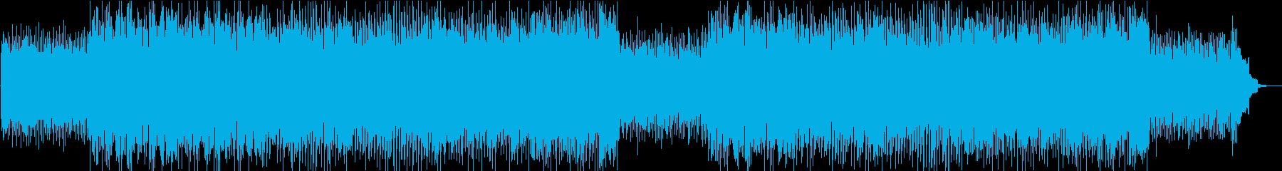 軽快で前向きな雰囲気のソフトロックの再生済みの波形