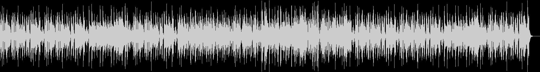 ほのぼしたフルートボサノバの未再生の波形