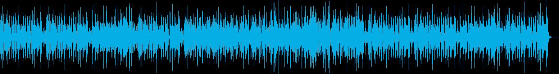 ほのぼしたフルートボサノバの再生済みの波形