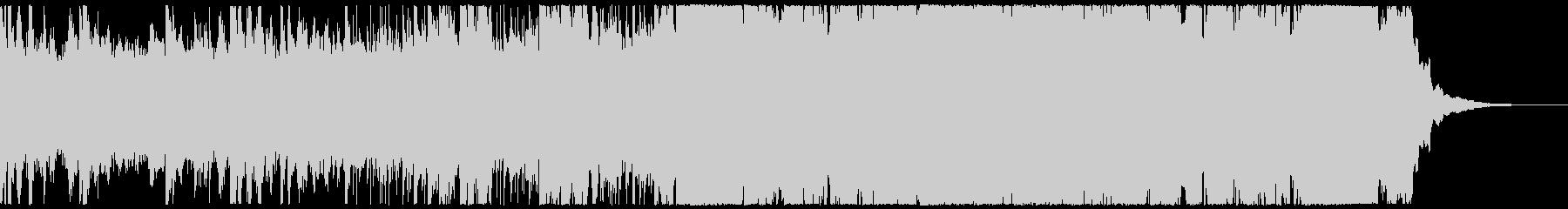 ピアノとシンセのカフェ・アンビエントの未再生の波形