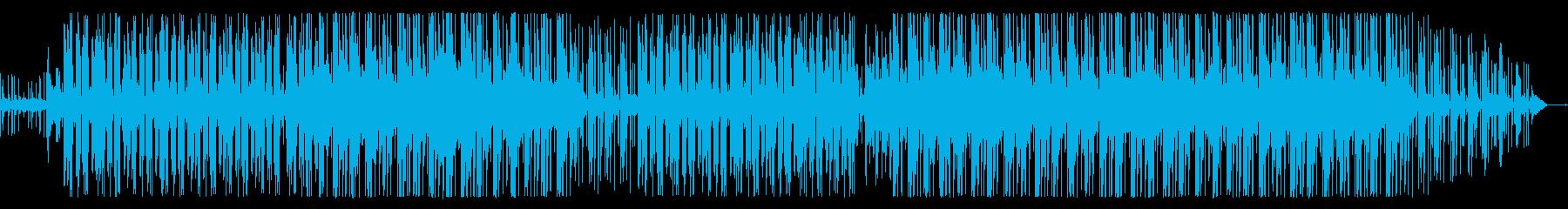 流れるような、少しジャジーなチルア...の再生済みの波形