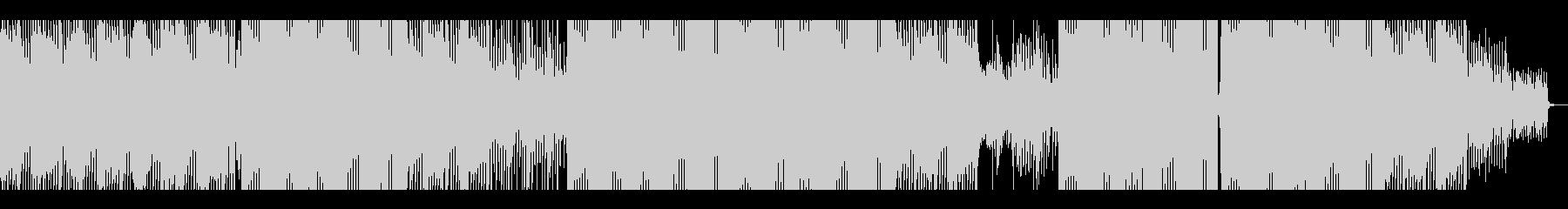 ピアノが印象的な80年代風テクノポップの未再生の波形