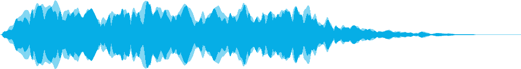 【ゲーム演出】疑惑シーンの再生済みの波形