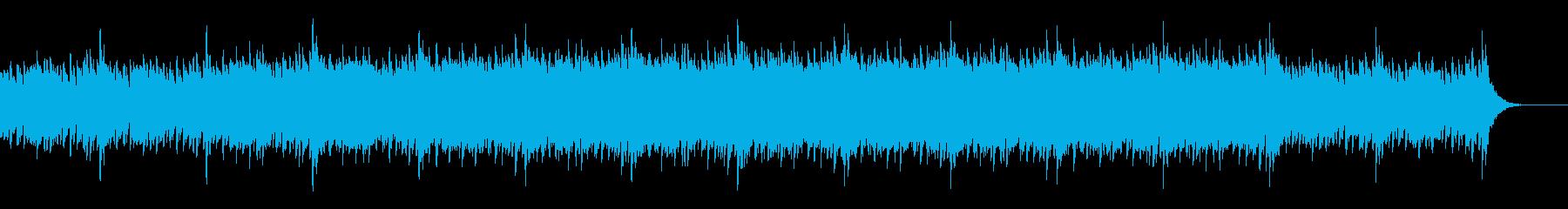 アンビエント、バラード、ヒーリングの再生済みの波形