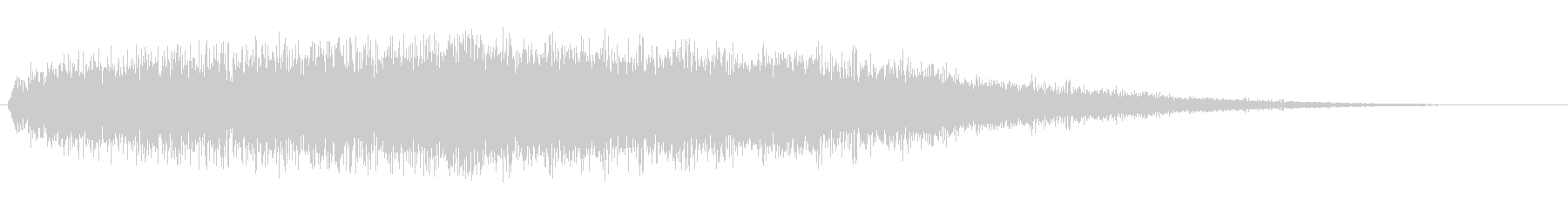 シューン(高速移動の音)の未再生の波形