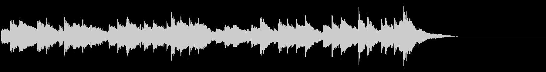即興曲 D935-2(シューベルト)の未再生の波形