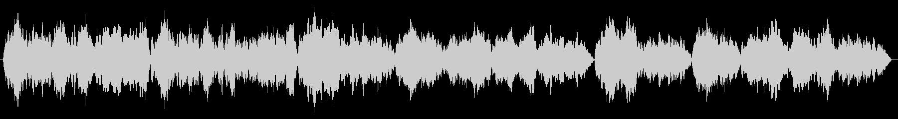【バッハ】G線上のアリアの未再生の波形