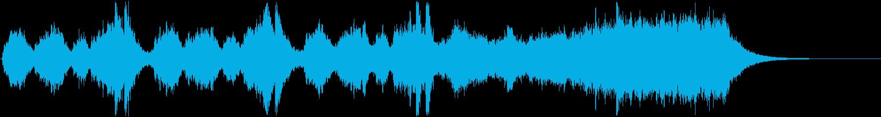 《表彰式》オープニング・ファンファーレの再生済みの波形