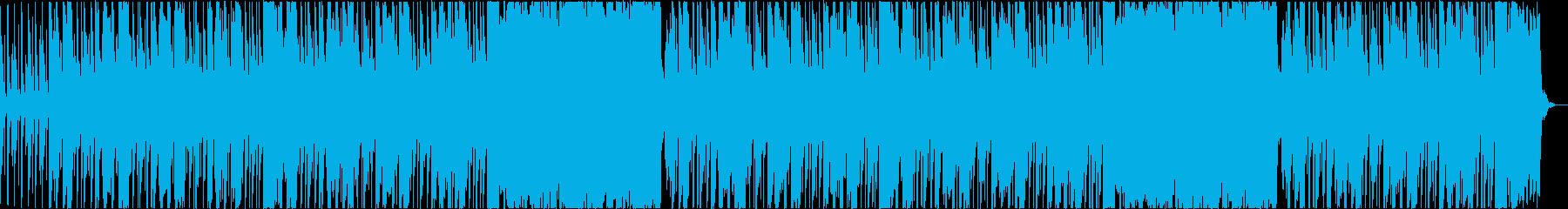 ほのぼのアウトドアの再生済みの波形