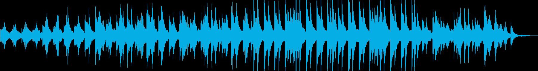 感動的・幸せ・リラックス・静けさ・ピアノの再生済みの波形