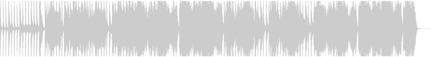 アコギ、フルート主のんびりとした伴奏の未再生の波形