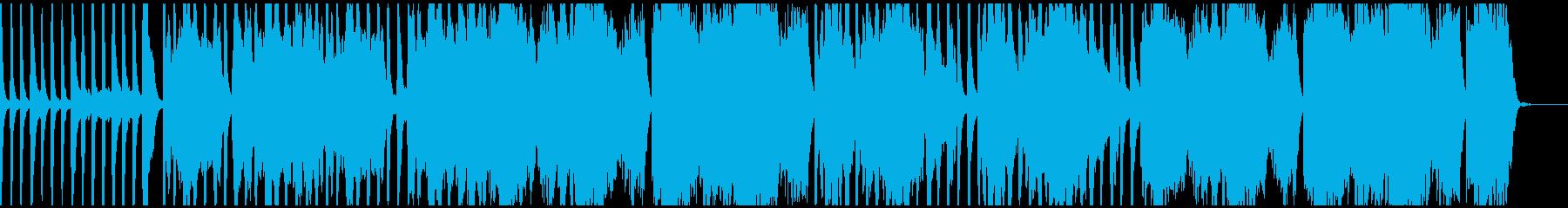アコギ、フルート主のんびりとした伴奏の再生済みの波形