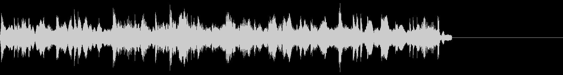 【ジングル】機械的シンセサウンドの未再生の波形