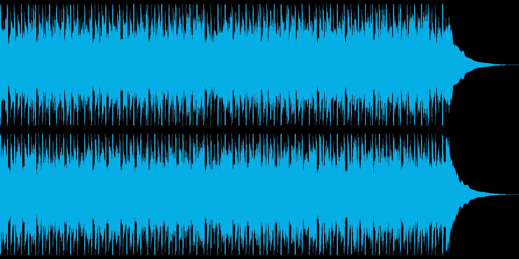 構築(ショート2)の再生済みの波形