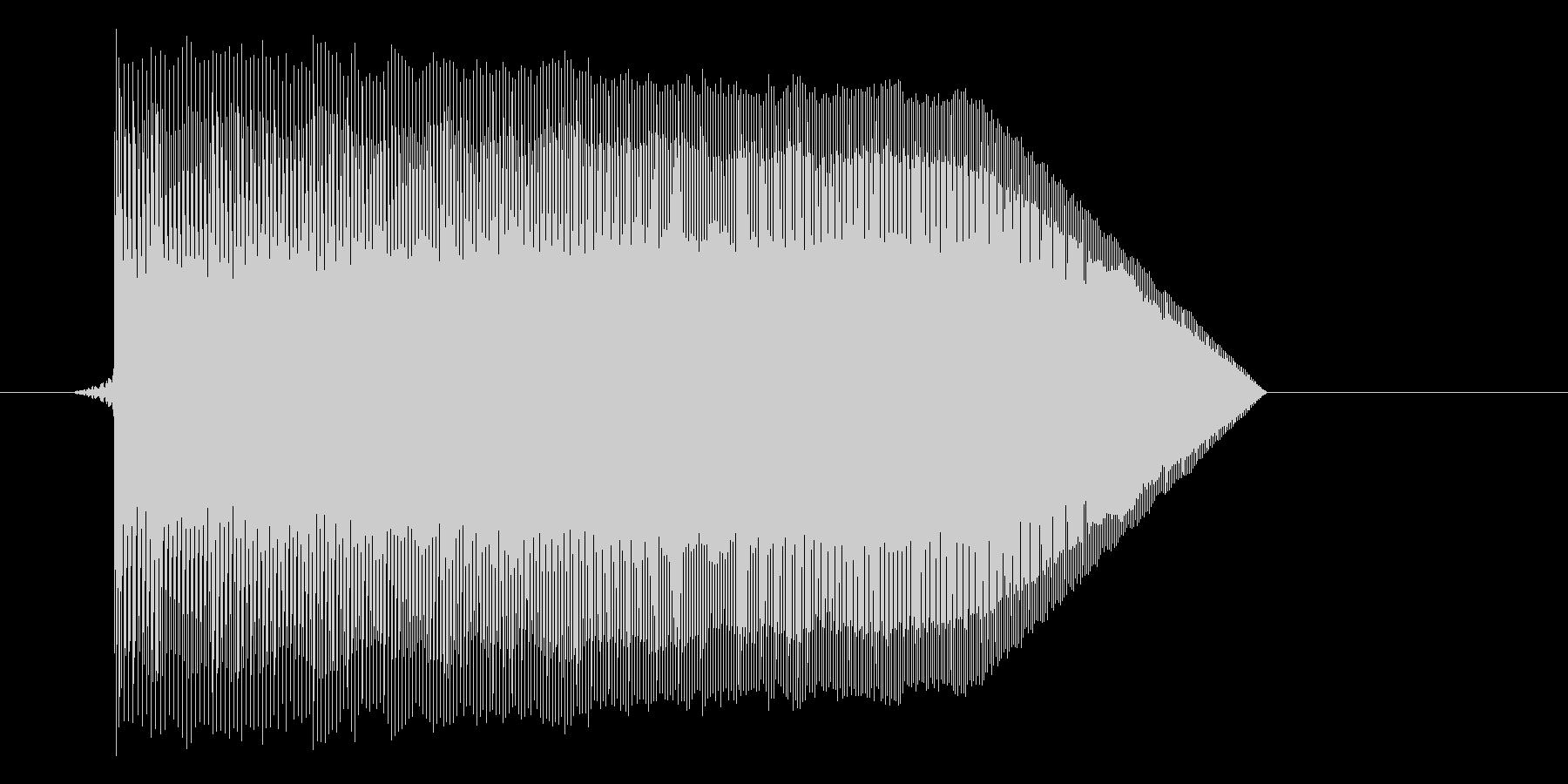 ゲーム(ファミコン風)ジャンプ音_004の未再生の波形
