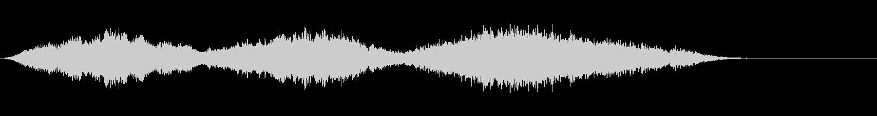 音楽ロゴ;持続弦弦上の瞑想的なベル...の未再生の波形