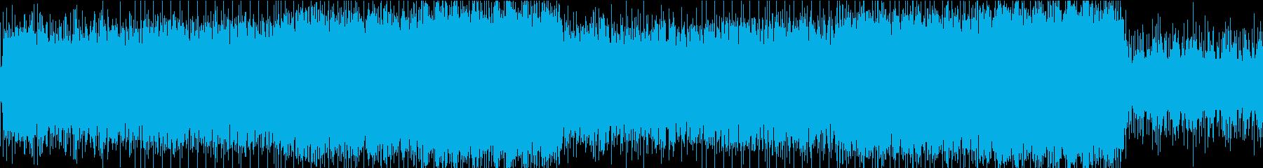 [ループ]R&Bな雰囲気のアンビエント曲の再生済みの波形
