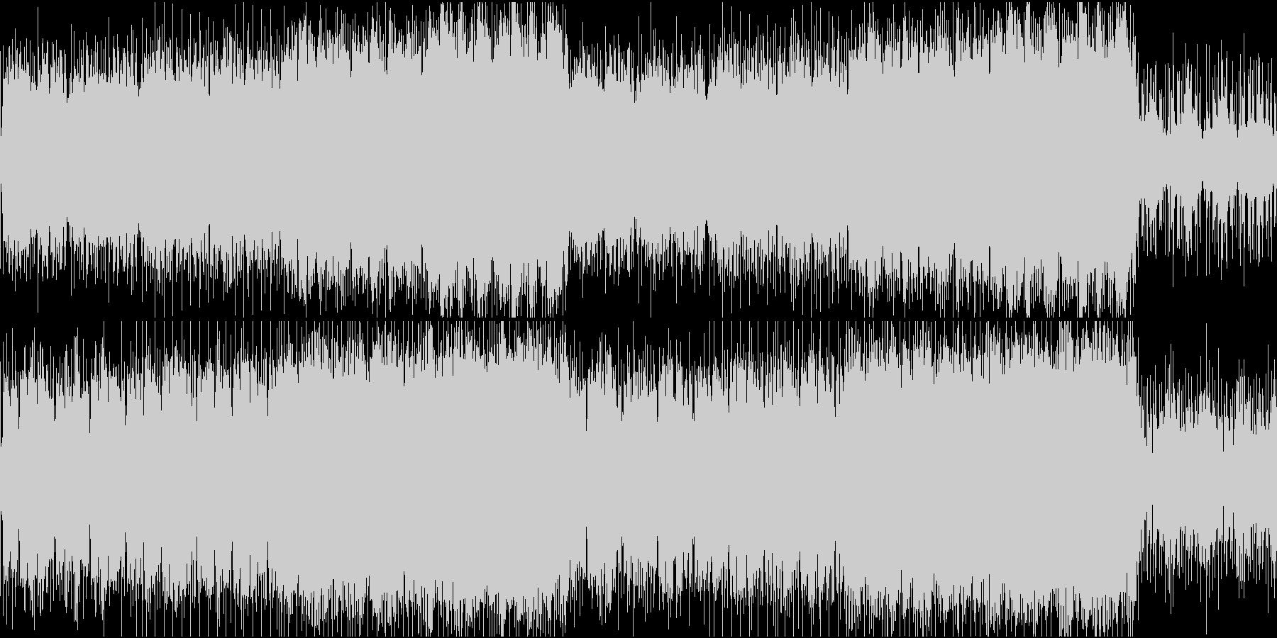 [ループ]R&Bな雰囲気のアンビエント曲の未再生の波形