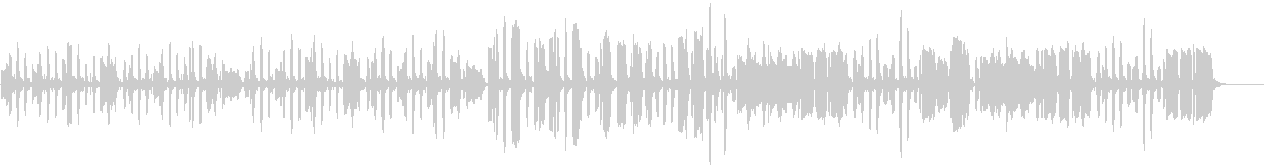 リコーダーのほのぼのBGMの未再生の波形