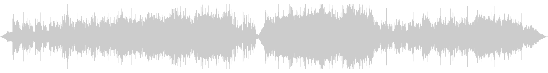 ダンジョン探索をイメージした管弦楽の未再生の波形