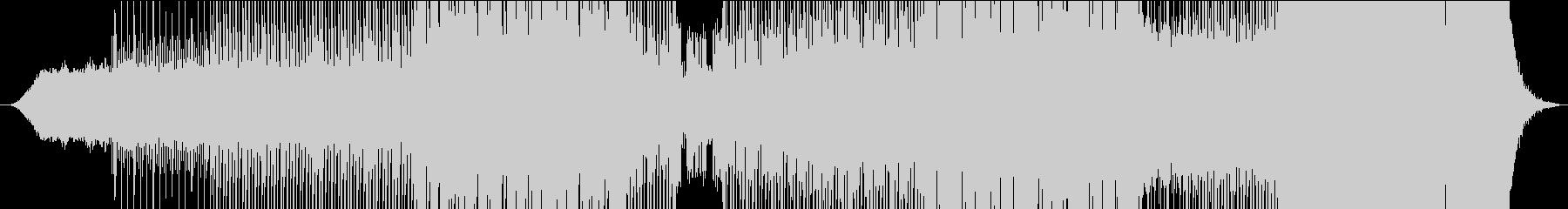 シンセサイザーウェーブで技術のある曲の未再生の波形