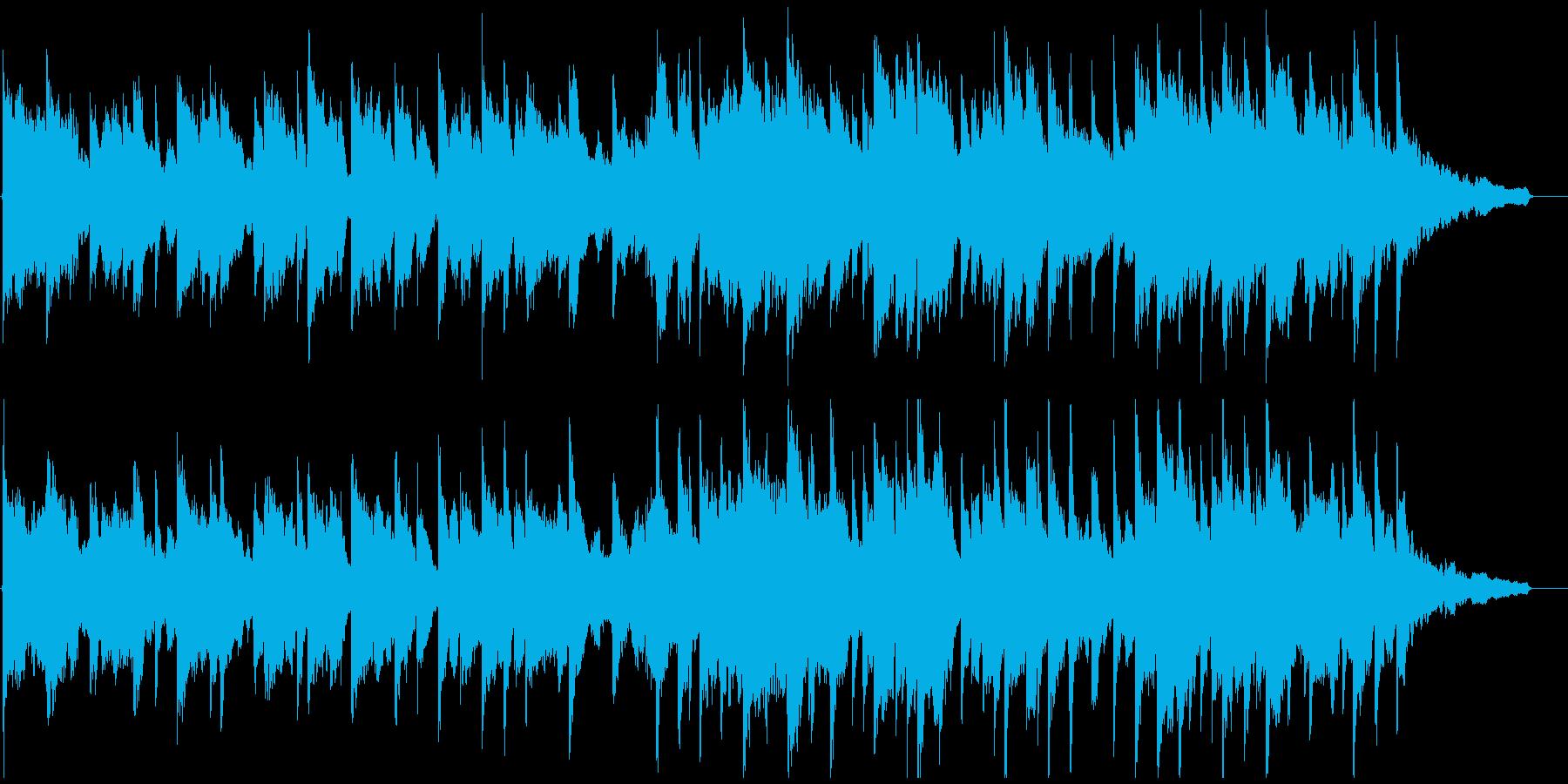 安らぐ音色の穏やかヒーリングミュージックの再生済みの波形