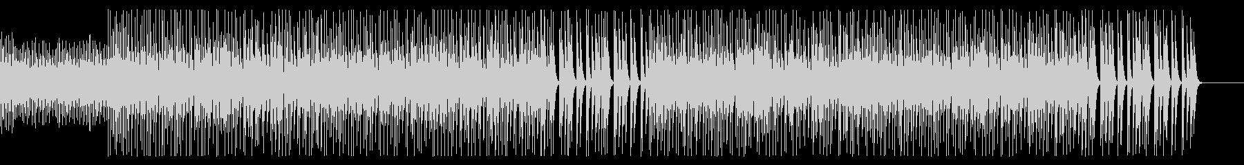 マリンバとシロフォンのBGMの未再生の波形
