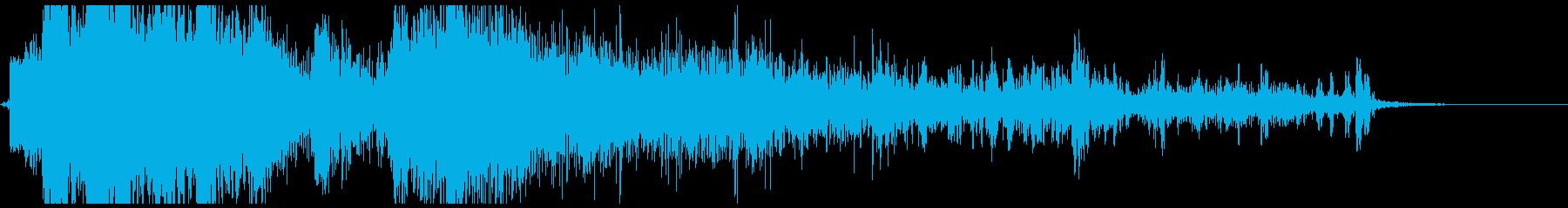 METAL DRUMS CRASH...の再生済みの波形