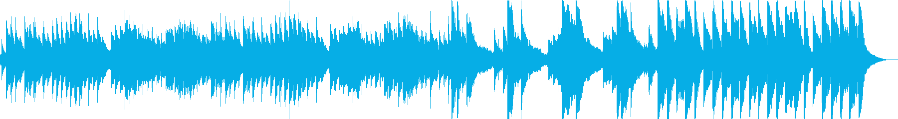 輝くような綺麗な音色が特徴のアコギ曲の再生済みの波形