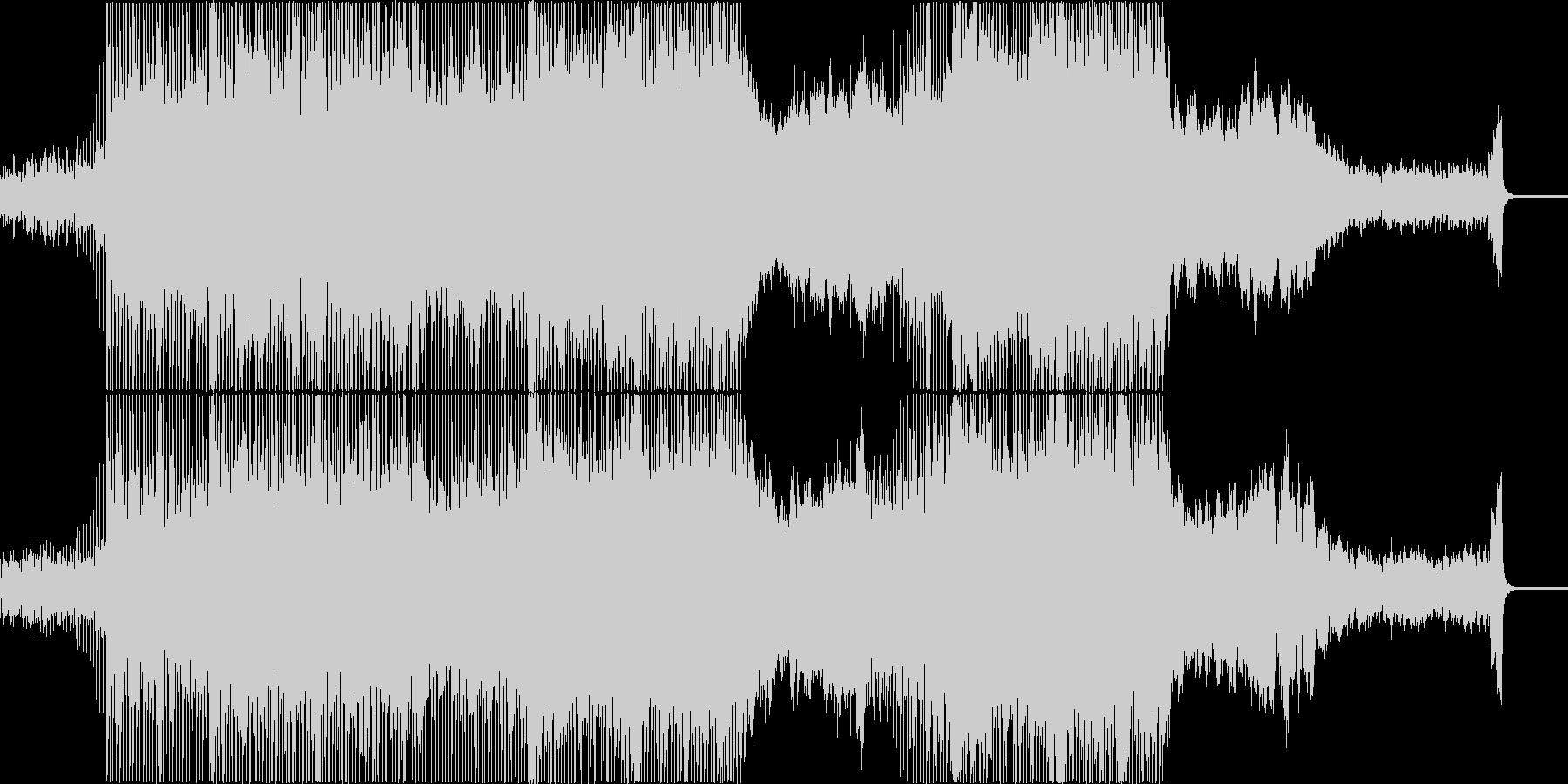 優しく切ない、感動的なストリングスポップの未再生の波形