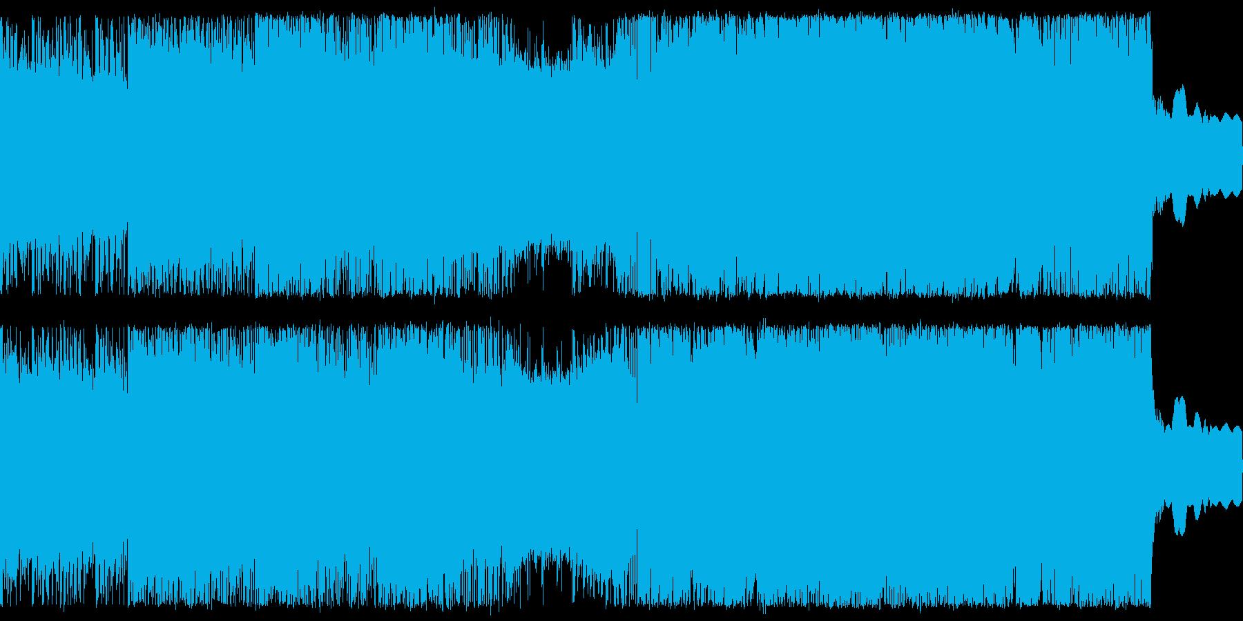 緊迫感のあるバトル向け曲の再生済みの波形