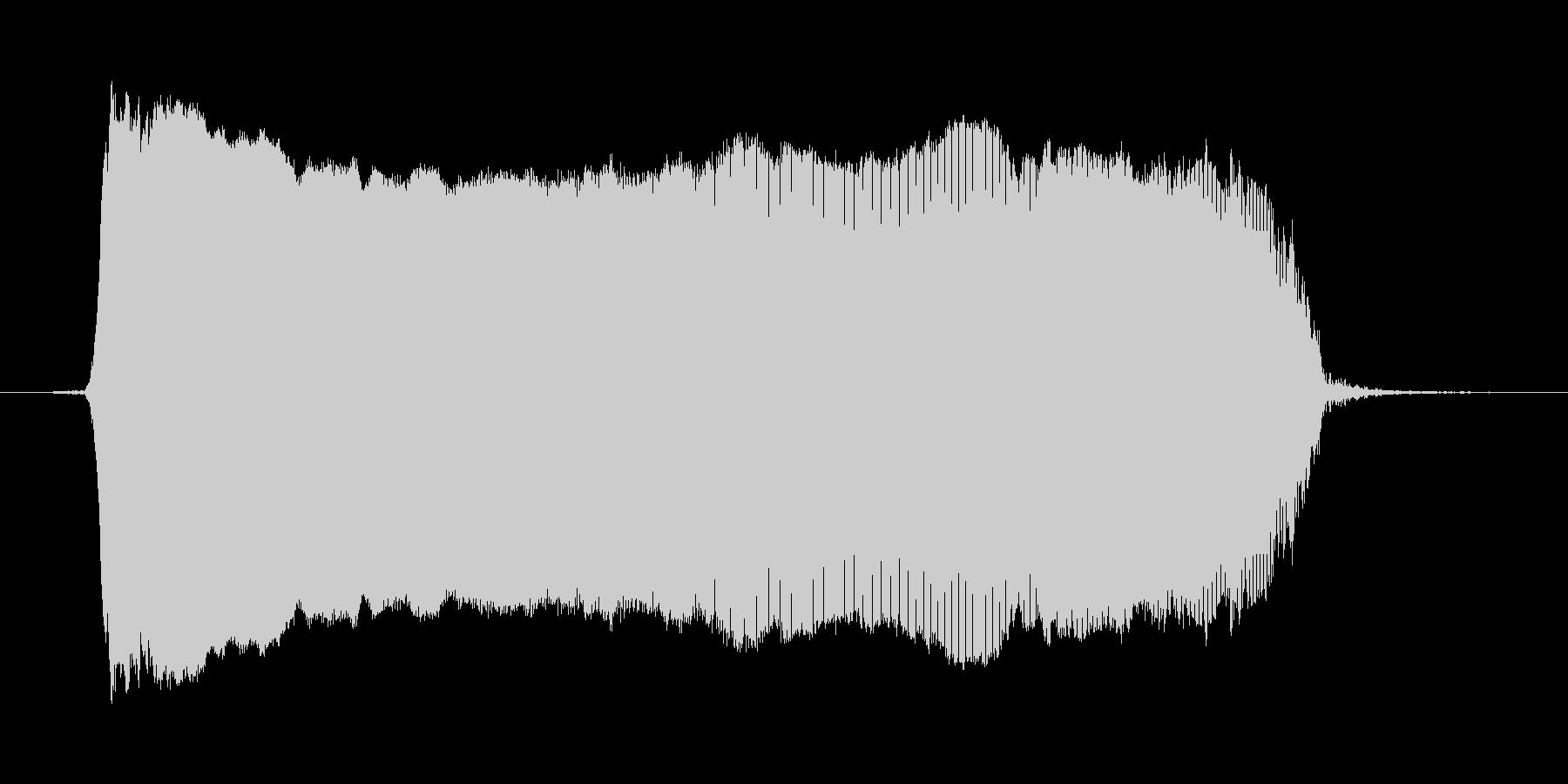 わー2の未再生の波形