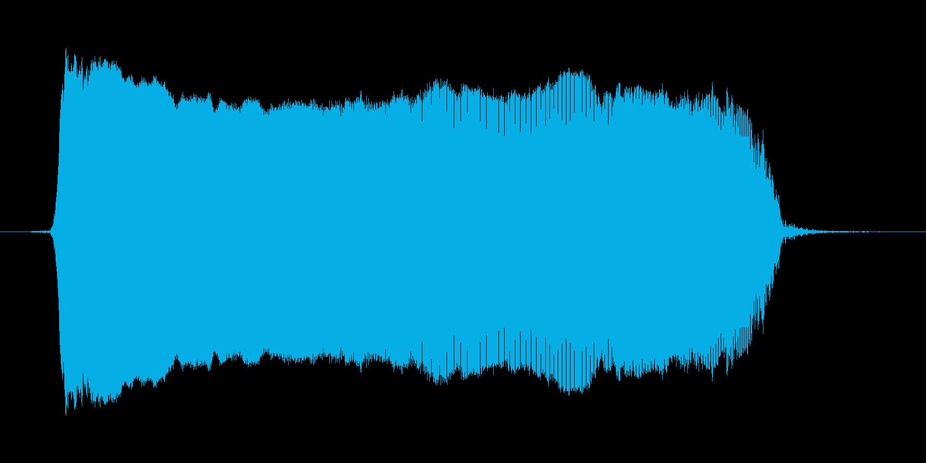わー2の再生済みの波形