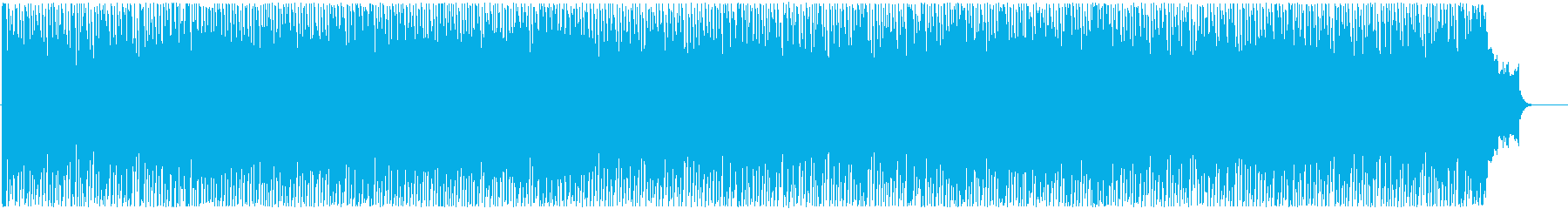 ウキウキするような楽しいBGMの再生済みの波形