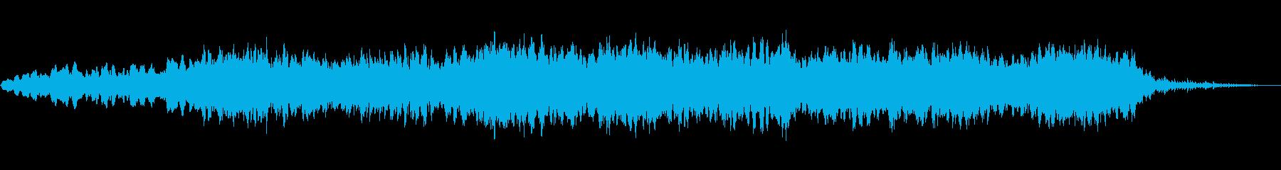 静かにはじまる、神秘的なメロディラインの再生済みの波形